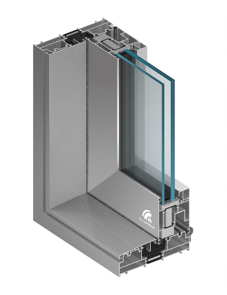 Drzwi podnoszono-przesuwne MB-77HS